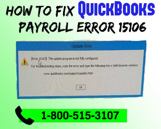 Troubleshooting QuickBooks Error 15106