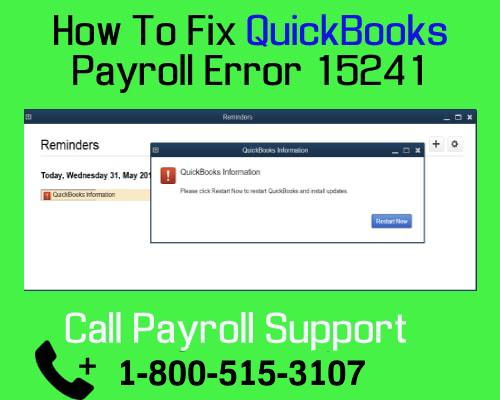 Troubleshooting QuickBooks Error 15241