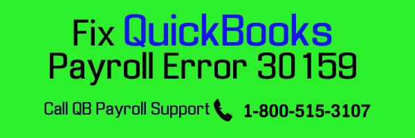 QuickBooks Payroll Error 30159 - EIN/Payroll Subscription