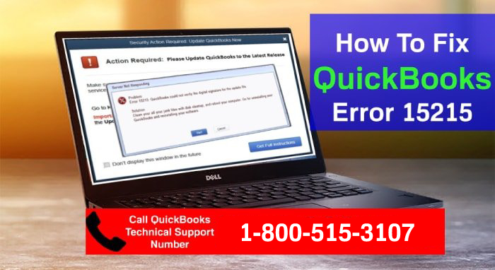 Troubleshooting QB Update Error 15215