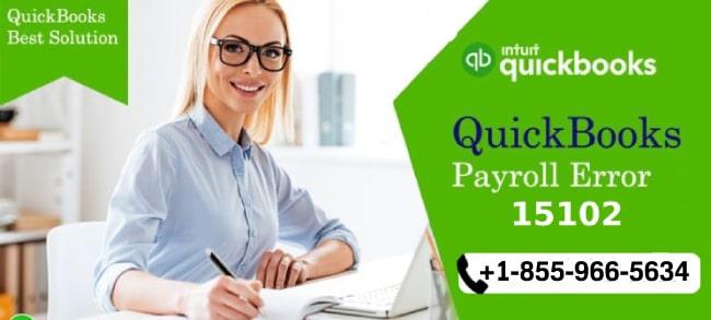 QuickBooks Payroll Error 15102 Troubleshooting