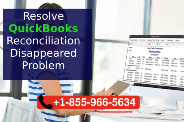 Old QuickBooks Reconciliation  Missing